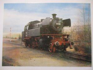 Eisenbahn, Bundesbahn Tenderlokomotive, Opitz Privatganzsache (17897)
