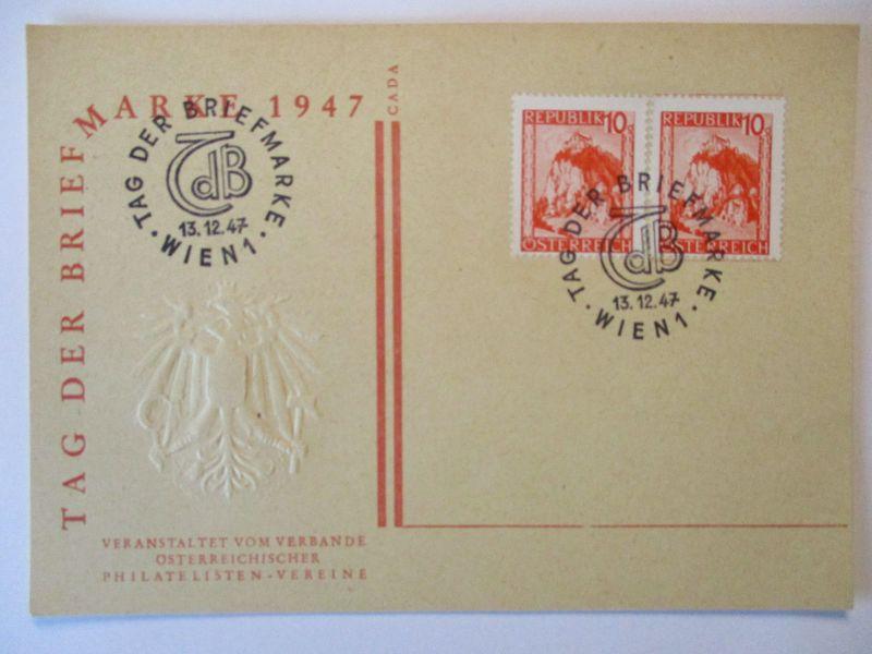 Österreich, Tag der Briefmarke Wien 1947 (56900)