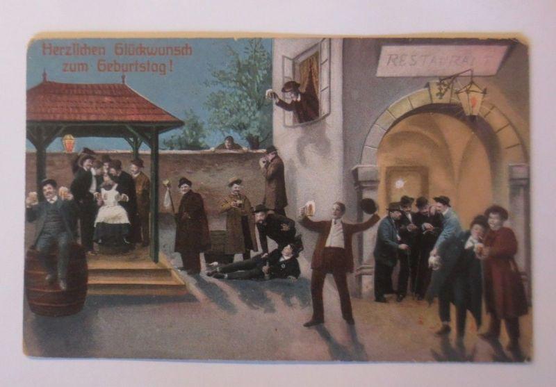 Geburtstag Manner Bier 1910 64069 Nr 64069 Oldthing