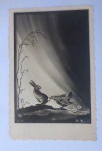 Ostern, Hase, Huhn, Küken,   1935, J.H. Jakob ♥ (4956)