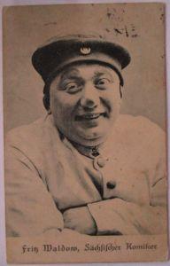 Zirkus, Clowns, Komiker, Fritz Maldow, Komiker aus Sachsen, 1912 (24380)