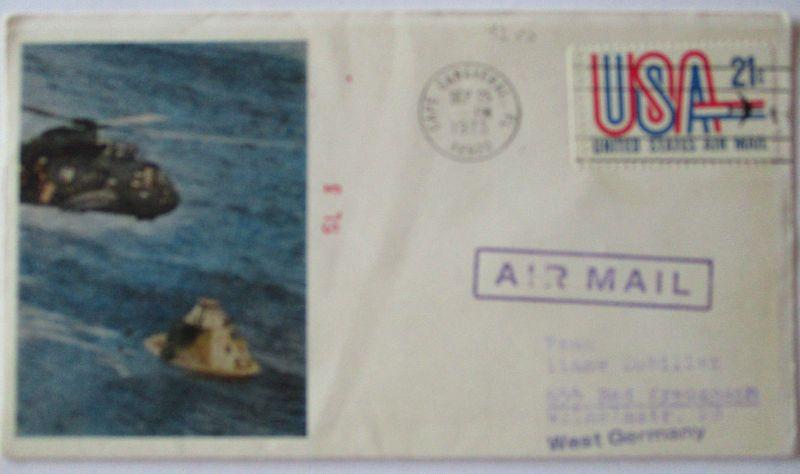 Raumfahrt USA Skylab SL 3, 1973 (37158)