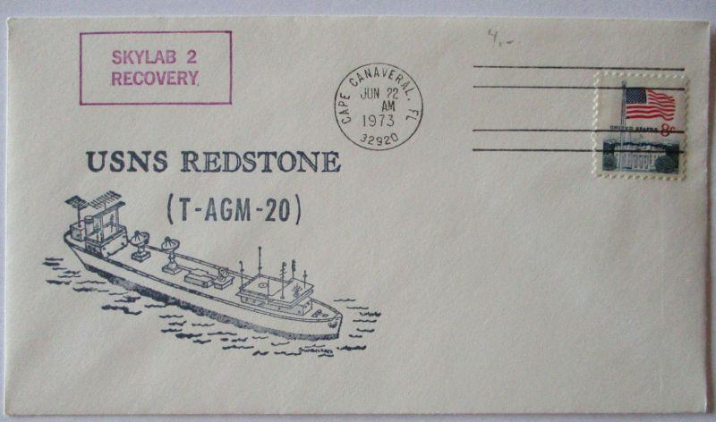 Raumfahrt USA Skylab USNS Redstone 1973 (43051)