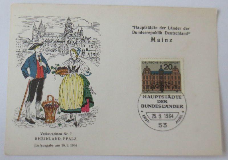 Hauptstädte der Länder, Mainz Rheinland Pfalz 1964 (11449)