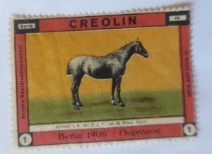 Vignetten, Creolin Desinfektionsmittel Berlin 1906 Ostpreusse  ♥ (54558)