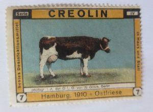 Vignetten, Creolin  Desinfektionsmittel Hamburg 1910 Ostfriese ♥ (12530)