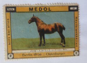 Vignetten, Medol  Medizin für die Haut, 1906, Berlin Oldenburger ♥ (4473)