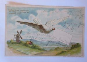 Namenstag, Kinder, Mode, Korb,Blumen,  1915, Lia Döring ♥ (64099)