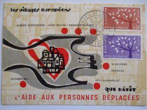 Frankreich, Maximumkarte Europa Cept (47689)