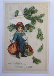 Künstlerkarte, Frauen, Männer, Mode, , 1909 ♥ (65115)