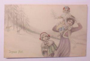 Frauen, Frauen,  Kinder, Mode, Misteln, Tanne,    1908, Munk Vienne ♥ (62763)