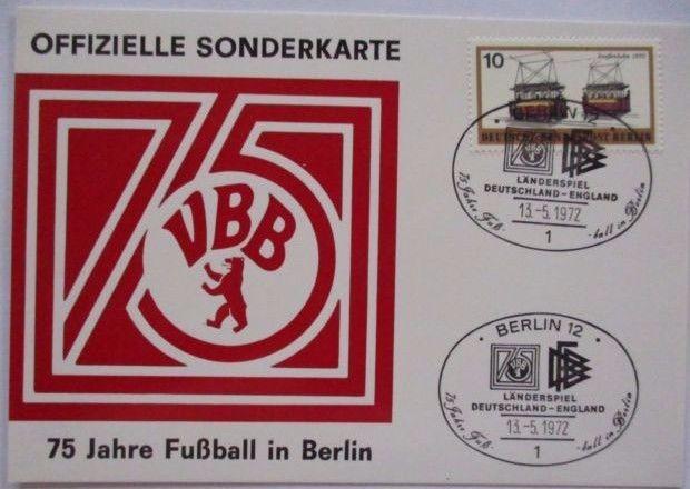75 Jahre Fußball in Berlin, Länderspiel Deutschland-England 1972 (44641)