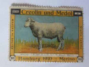 Vignetten, Creolin und Medol , 1910 Hanburg Merino  ♥ (37276)