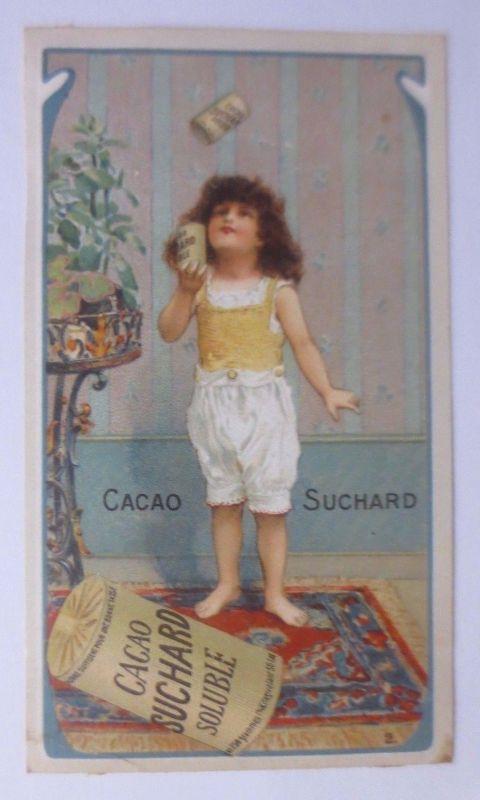 Kaufmannsbilder, Cacao Suchard Soluble, Kinder, Spielen  1910 ♥ (61389)