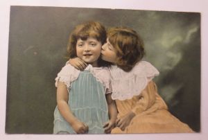 Kinder, Mode, Kuss,    1910 ♥ (31033)