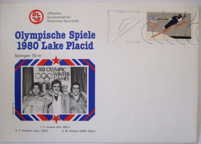 Olympia 1980 Lake Placid, Skispringen 70 meter (57465)