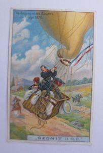 Kaufmannsbilder, Ozonit Waschmittel, Luftschifffahrt Nr. 4 ♥ (64136)