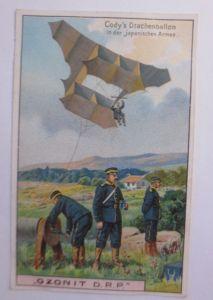 Kaufmannsbilder, Ozonit Waschmittel, Luftschifffahrt Nr. 3 ♥ (64135)