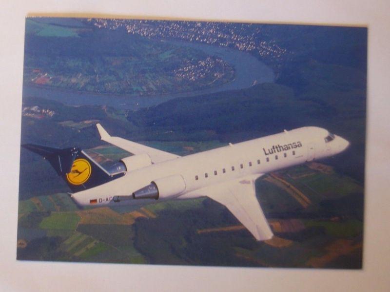Lufthansa Canadair Jet CL-600   ca. 1968  ♥  (3375)