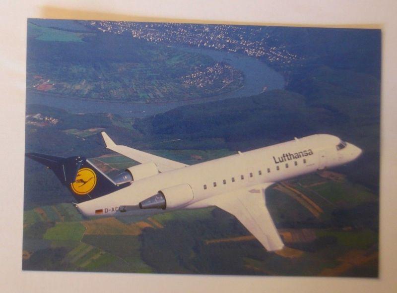 Lufthansa Canadair CL-600   ca. 1968  ♥  (22586)