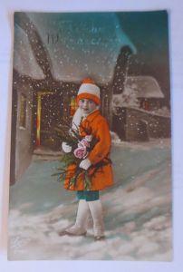 Neujahr, Kinder, Mode, Blumen,  1910 ♥ (16386)