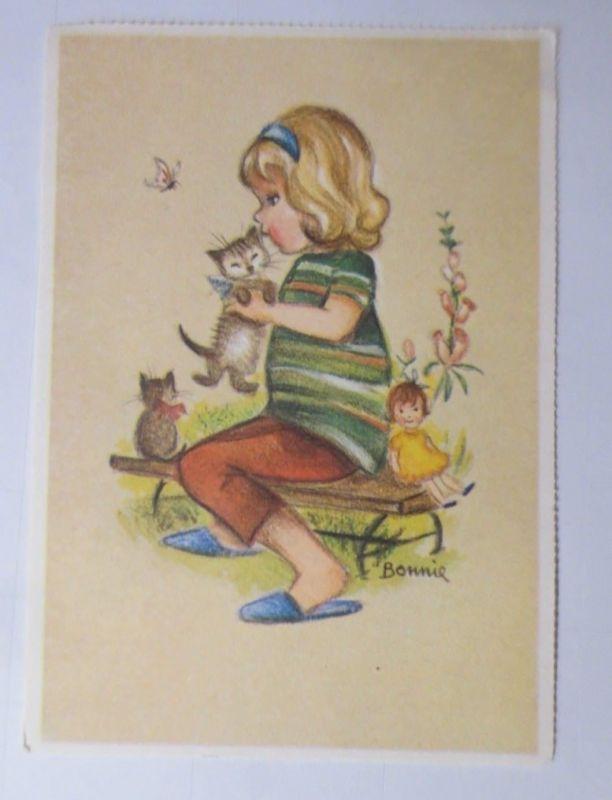 Katzen, Kinder, Puppe,  1945, Bonnie  ♥ (66202)