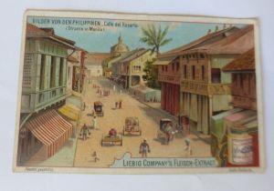 Weihnachten, Winter, Haus, Glocken, Stechpalme, Vogel,  1910, Prägekarte ♥ (866)