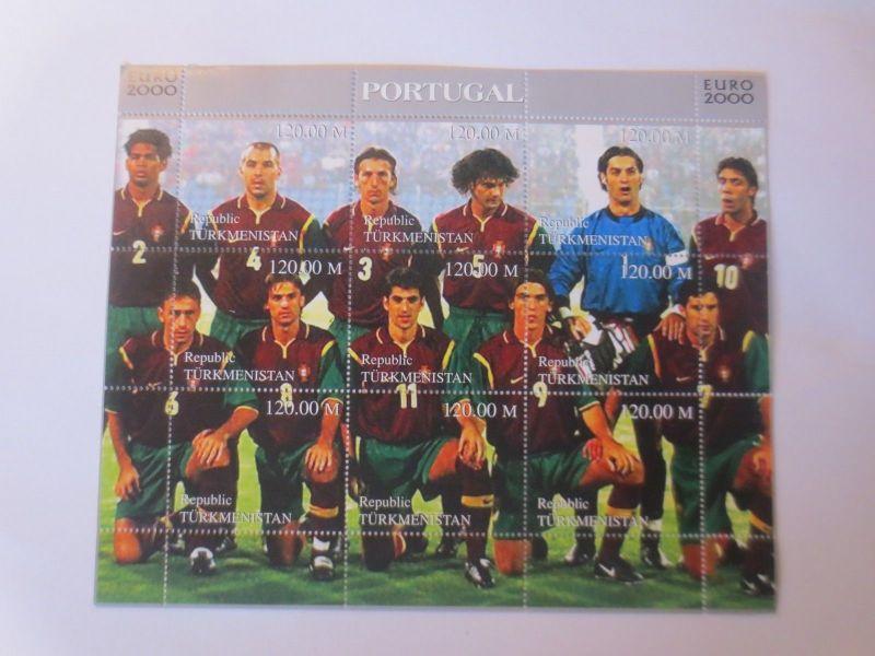 Türkmenistan Fußball EM 2ooo  Portugal ♥  (22021)