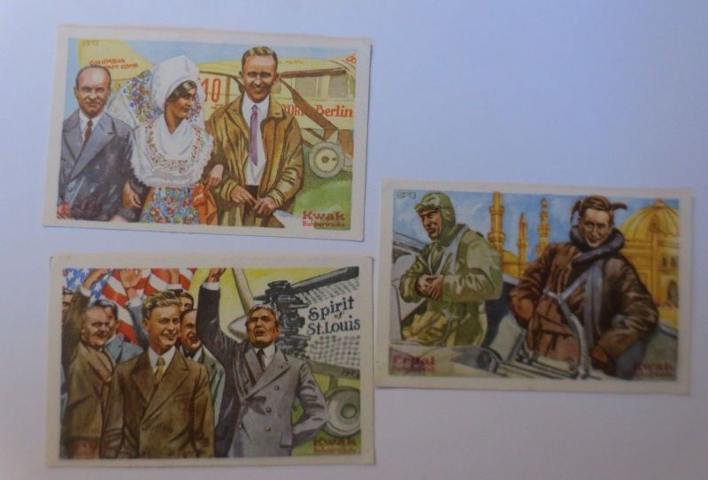 Kaufmannsbilder, Erdal-Kwak-Serienbilder, Serie 6, Bild 1,2,6, ♥ (41068)