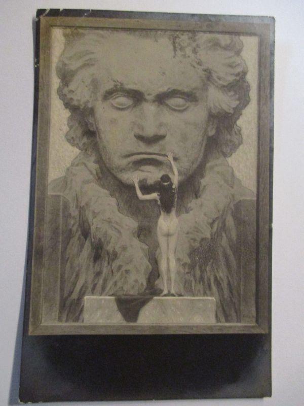Künstlerkarte Fidus, Nr. 16, Beethoven (553)
