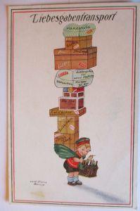 Kinder WW 1, Liebesgabentransport, 1916, Carl Diehl ♥  (41315)