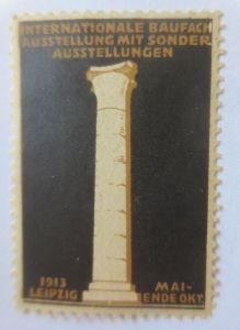 Vignetten, Internationale Baufach Ausstellung Leipzig 1913 ♥ (62879)