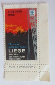 Vignetten, Foire Internationale Liege 1960 ♥ (65161)