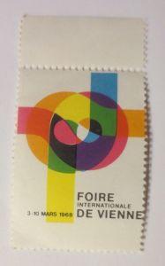 Vignetten, Foire Internationale de Vienne 1968  ♥  (48304)