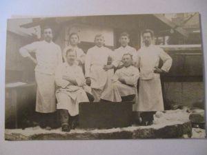 Berufe, Metzger, Fotokarte ca. 1920 (40151)