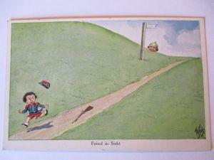 Kinder WW 1, Deutschland-Frankreich, Feind in Sicht (41242)
