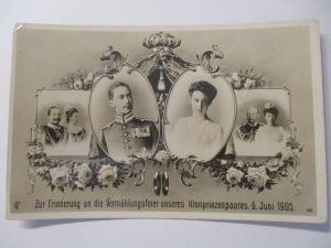 Künstlerkarte, Frauen, Mode, Hutmode,  1909, Archie Gunn  ♥ (2733)