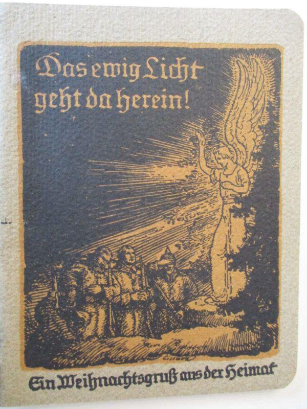 Weihnachten WW 1, Weihnachtsgruß aus der Heimat, Heft mit 46 Seiten (23812)