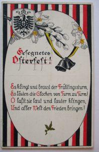 Ostern WW 1, Österreich, Braust der Frülingssturm, 1915 (49089)