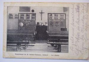 Frankreich, Pensionat Sainte Enfance, Feldpost 54. Res.Division 1915 (58465)