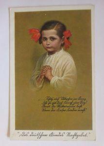 Kinder, Kindergebet für den Vater, 1917, Feldpost  ♥ (52018)