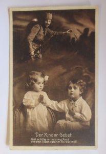 Kinder, Gebet, Der Kinder Gebet für den Vater, 1915  ♥ (52025)