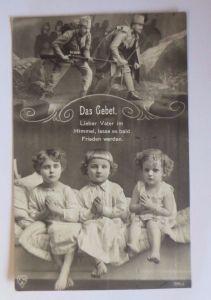 Kinder, Das Gebet, Kinder Beten für den Vater,  1915 ♥ (52038)