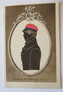 Fürst Bismarck als Göttinger Student, Bismarck-Karte ♥ (35103)
