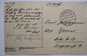 Feldpost 1917 aus Unterlüß (35365)