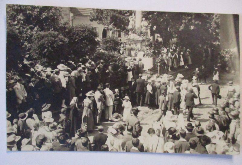 Österreich, Gedenktag, Denkmal, Soldaten mit Stahlhelm, Fotokarte (28147)