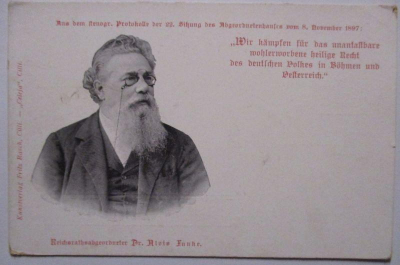 Österreich, Politik Reichsrat Dr. Alois Funke (62205)