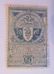 Vignetten, Esposizione Filateliga  Internationale Milano 1906 ♥  (70460)