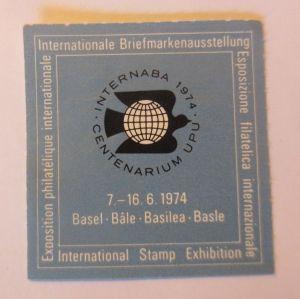 Vignetten, Internationale Briefmarkenausstellung Basel, 1974 ♥ (70520)
