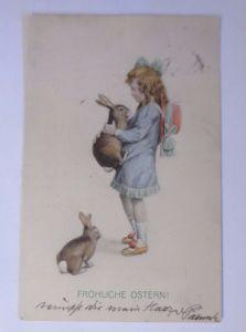 Marke Egemes, Ostern, Kinder, Mode, Hase,     1909 ♥ (62971)